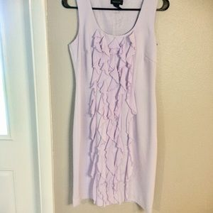 Lavender sheath dress